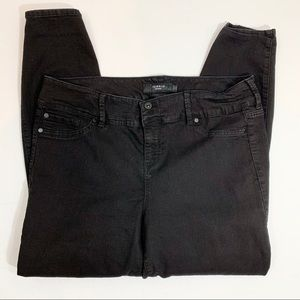 Torrid Black High Rise Skinny Jeans